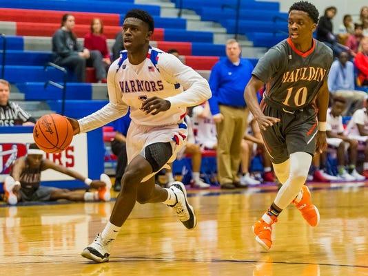 High School Basketball:  Mauldin at Riverside