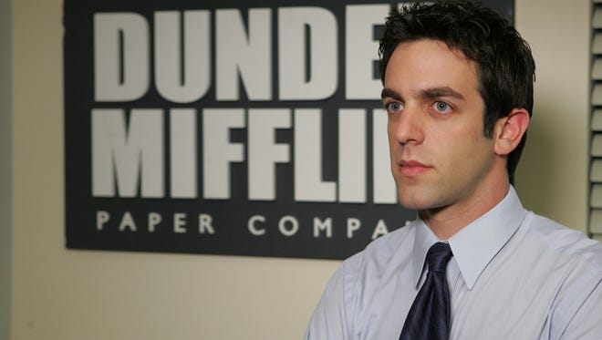 "B.J. Novak, who played Ryan Howard on NBC's ""The Office,"" will perform in Newark this fall."