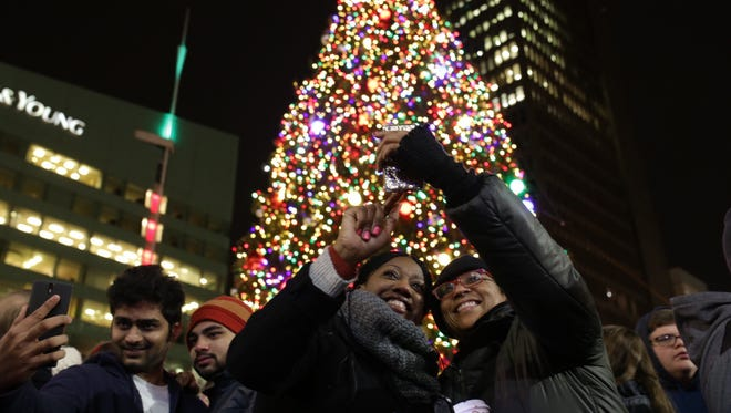 The Campus Martius tree will be adorned with 19,000-plus lights and ornaments.
