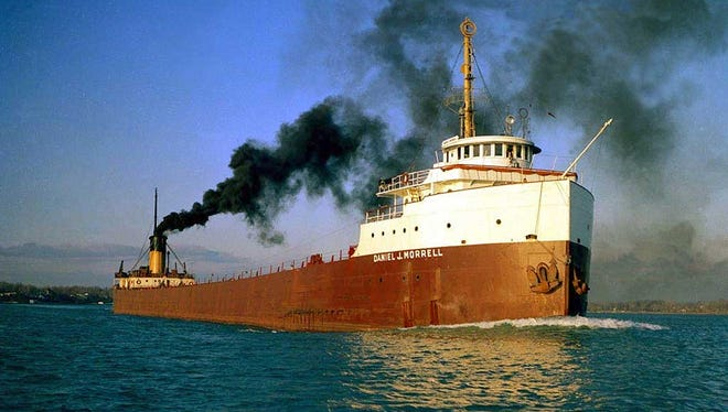 A picture (date unknown) of the Daniel J. Morrell at sail on Lake Huron.The freighter sank in November of 1966 with one survivor, Dennis Hale.Hale passed away on Wednesday morning, September 2, 2015 after a battle with cancer.