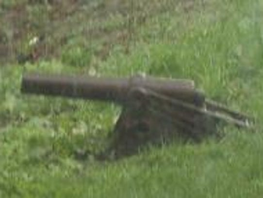 This cannon has been stolen from the porch of Kip de