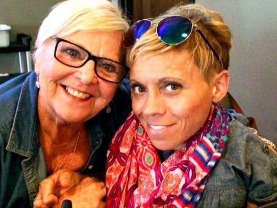 Rose (left) and Kate Kobbermann.