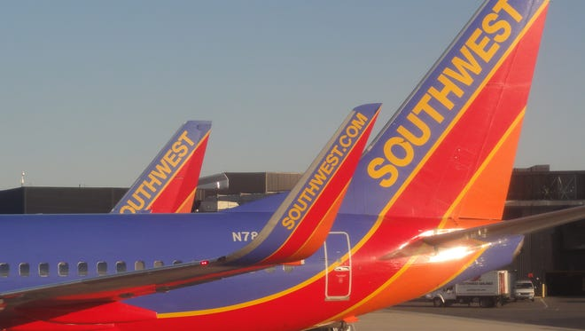 Southwest Airlines at Baltimore/Washington International Airport (BWI) on the morning of March 19, 2011.