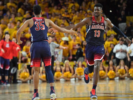 NCAA Basketball: Arizona at Arizona State