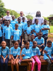 Kirk Herbstreit (left) and Courtney Upshaw (right) have each allocated enough resources toward providing a brighter future for these children.