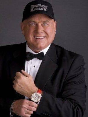 Nevada brothel owner Dennis Hof.