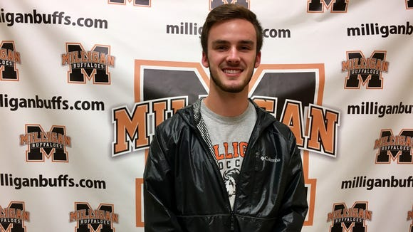 Franklin senior Kyle Knop has committed to play college soccer for Milligan.