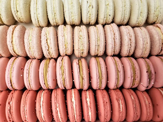 "Macarons are light-as-air, chewy almond meringue ""cookies"""