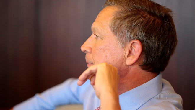 Ohio Gov. John Kasich had proposed a plan to cut income taxes while increasing other taxes.