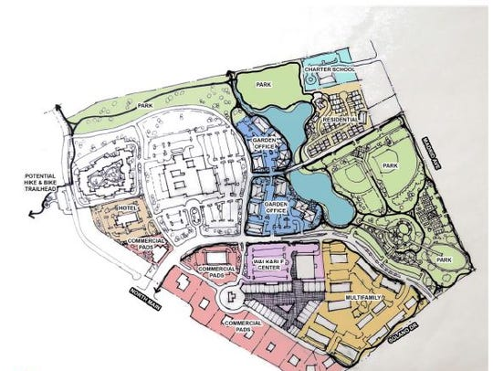 Preliminary designs for the Park Ridge / old Las Cruces