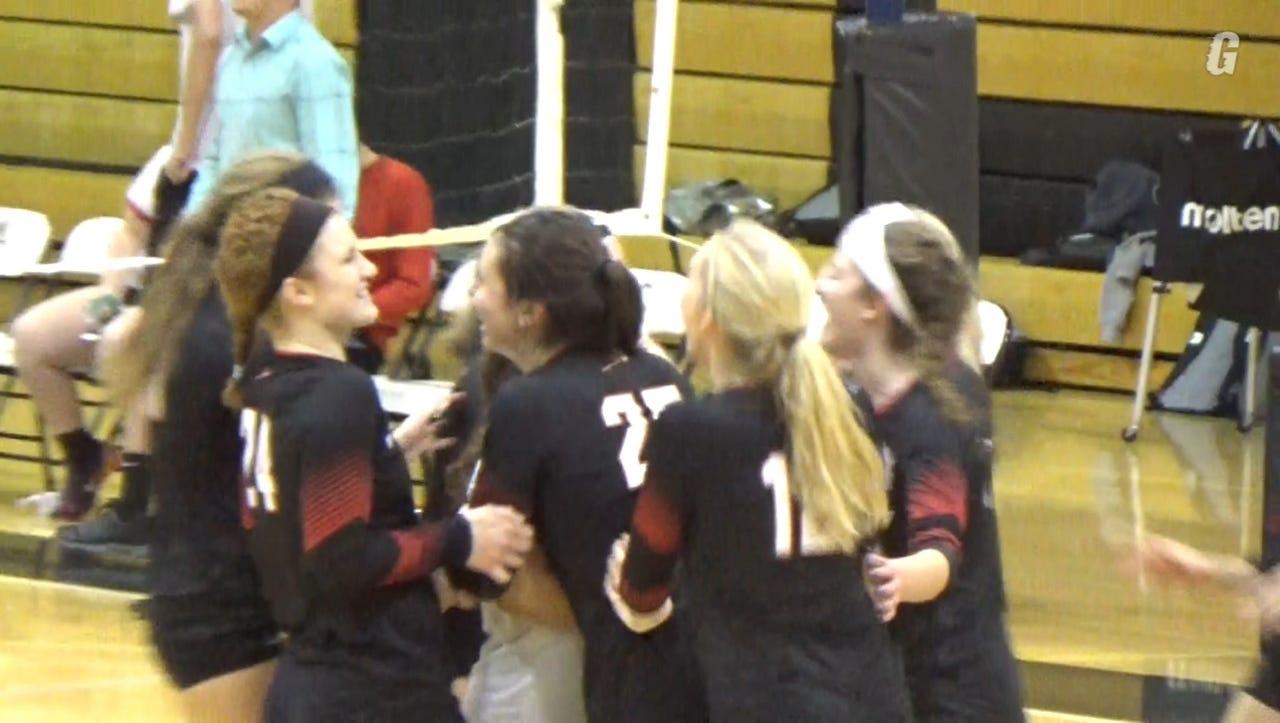 WATCH: Warwick advances to L-L volleyball finals