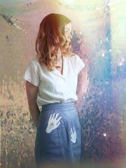 Self-portrait by Meagan Monico.