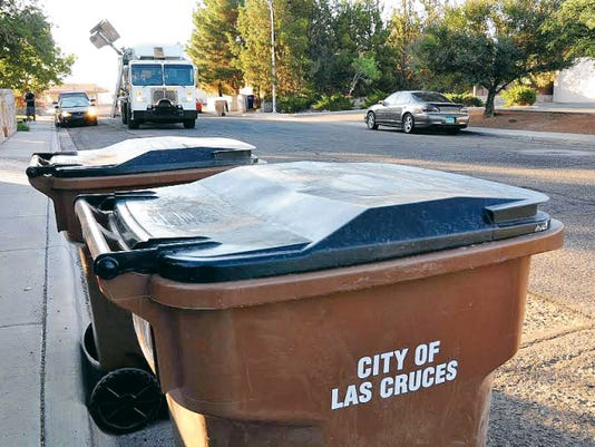 Courtesy photoWeekly residential curbside trash pickup is just one of the many services provided by the Solid Waste Section of Las Cruces Utilities.