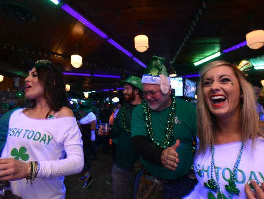 St. Patrick's Day Weekend 2015