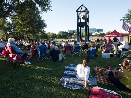 Pensacola's Marine Corps League kicked off its 2017 Heroes Among Us speaker series on Thursday, May 25, 2017, at Veterans Memorial Park in Pensacola.