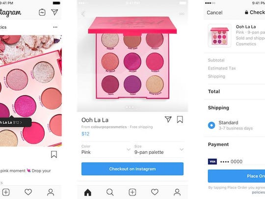 On Checkout, people will be able to buy directly within Instagram.