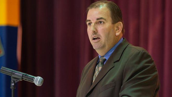 Somerset County Superintendent of Schools John Gaddis