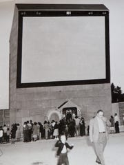 The outdoor theater used to stand near Lakeside Park.