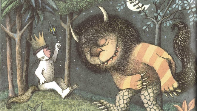 "An original drawing by Maurice Sendak in his book ""Where the Wild Things Are,"" which was made into a filmed opera that Classical 90.5 WUOL will present at its Summer Listening Party."