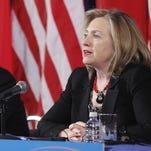 Then-secretary of State Hillary Clinton in Washington in 2011.