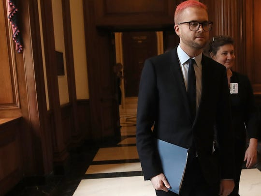 Former Cambridge Analytica employee Christopher Wylie
