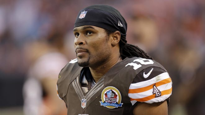 Browns special teams star Josh Cribbs, a Kent State product, will be inducted into the team's Legends Program in 2020.