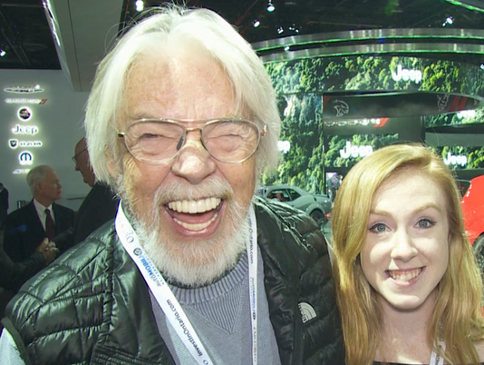 Seger at auto show