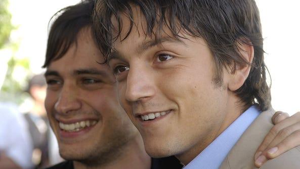 """Gael Garcia Bernal (left) and Diego Luna star in """"Y"""