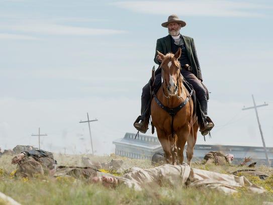 Jeff Daniels as Frank Griffin in 'Godless.'