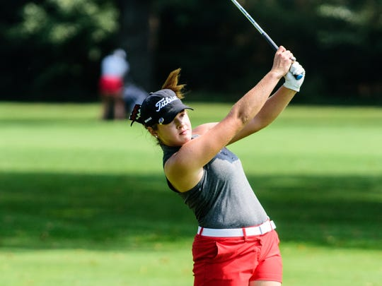 Lafayette Jeff's Courtney Walter IHSAA Girls Golf Regional 1 September 24, 2016