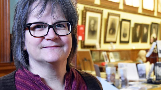 Barbara Rimkunas is the curator of the Exeter Historical Society.