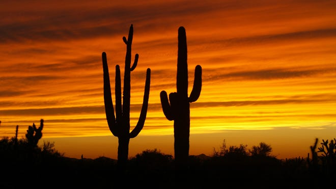 "Unlike most of the rest of the nation, Arizona did not ""spring forward"" on Sunday, March 8, 2015."