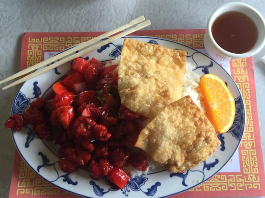 Sweet and Sour Pork at Chef Lee's Mandarin House II