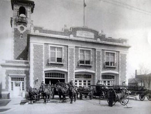 Sioux Falls Construction built the Central Fire Station in 1912.