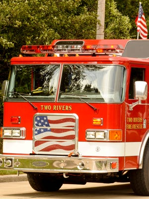 File photo of Two Rivers fire truck.