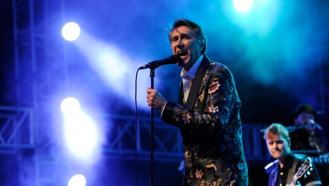 Bryan Ferry performs at the 2014 Coachella Music and Arts Festival on April 11, 2014, in Indio, Calif.