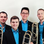 Trombone quartet Maniacal4 plays everything from chamber music to classic rock standards. The internationally known group visits the Mansfield on March 3.