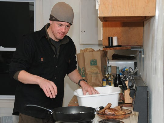 Author and TV host Steven Rinella will be in Madison