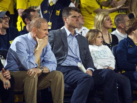 John Beilein, Jim Harbaugh