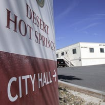 Desert Hot Springs mayor-elect Scott Matas. The city is swearing in its new leaders Tuesday.