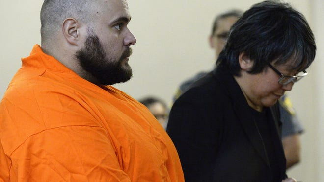Francis Gianelli during his arraignment in October on charges of shooting a man in Preston.