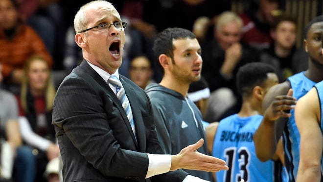 Dan Hurley is trying to coach his young Rhode Island team to its first NCAA berth in 15 years.