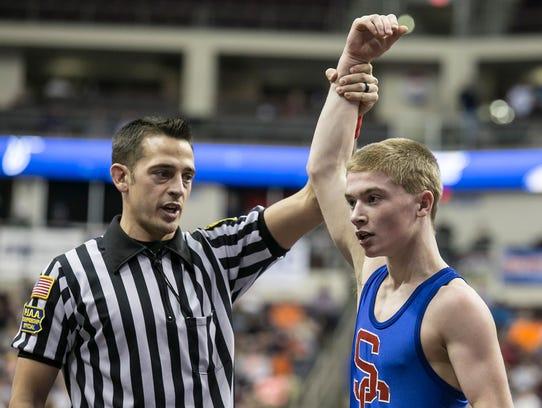Spring Grove's Dalton Rohrbaugh won the state bronze