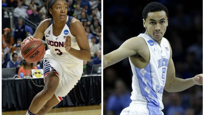 By Tuesday, both a men's and women's NCAA basketball champion will be determined.