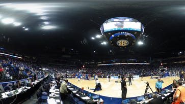 Experience being on the court during Kentucky vs. Georgia at 2016 SEC Tournament in 360 degrees