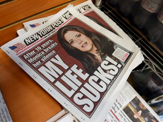 an analysis of the media coverage on the monica lewinsky scandal Former president bill clinton spoke out about the metoo movement and the monica lewinsky scandal on the today show on june 4 (today).