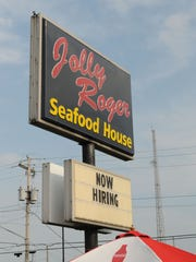 Jolly Roger Seafood House on Perry Street in Port Clinton.