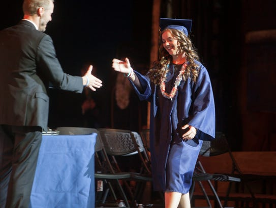 Tuacahn High School commemorates the commencement of