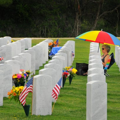 Cape Canaveral National Cemetery Memorial Day Observance