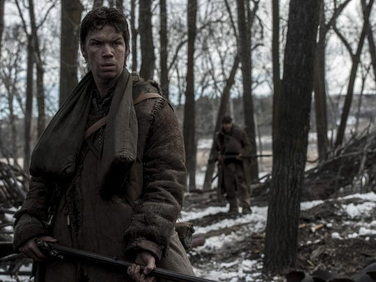 "Will Poulter portrays legendary mountain man Jim Bridger in ""The Revenant."""